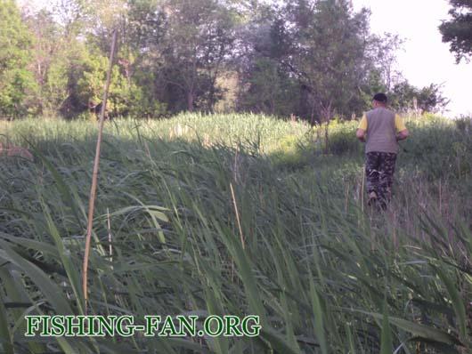 Ловля щуки на реке Мокрые Ялы