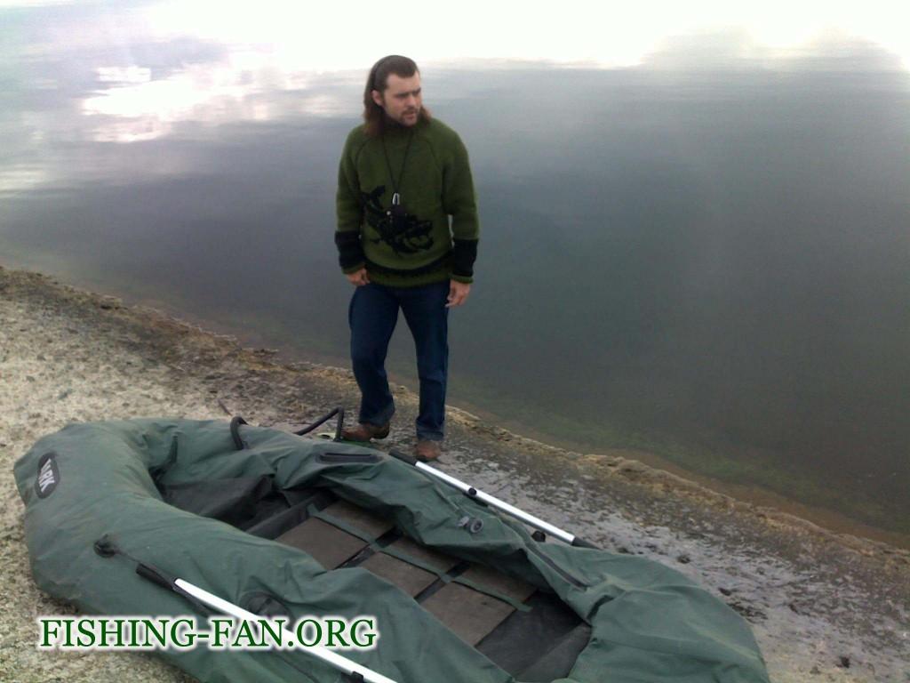 Ловля окуня с лодки на Курахово