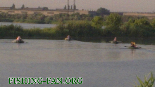 рыбалка на спиннинг в Донецкой области. соревнования.