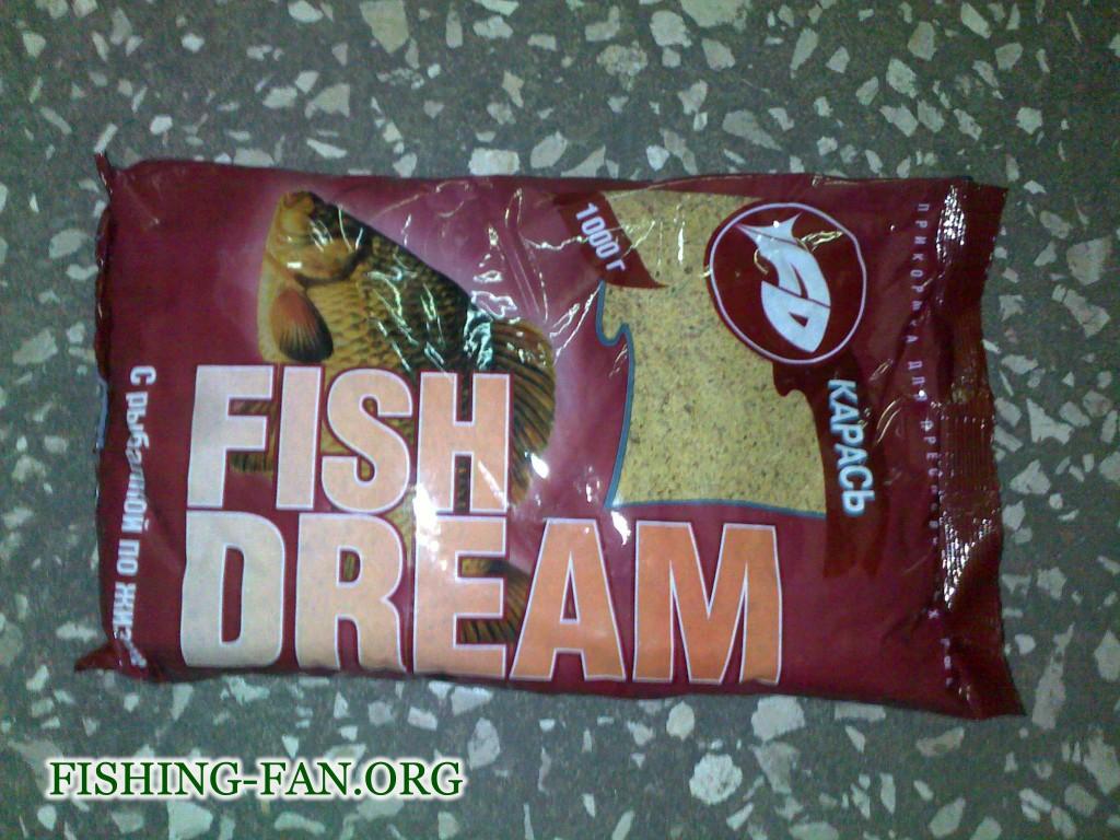 Прикормка для рыб Фишдрим Карась