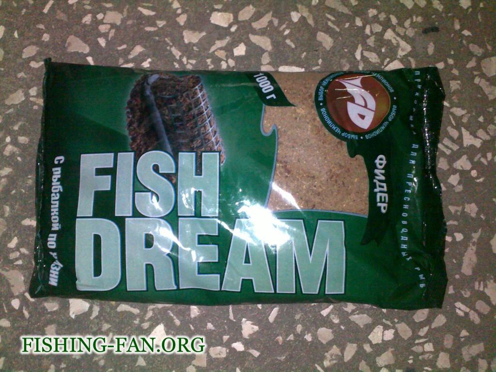 Прикормка для рыб Фишдрим Фидер