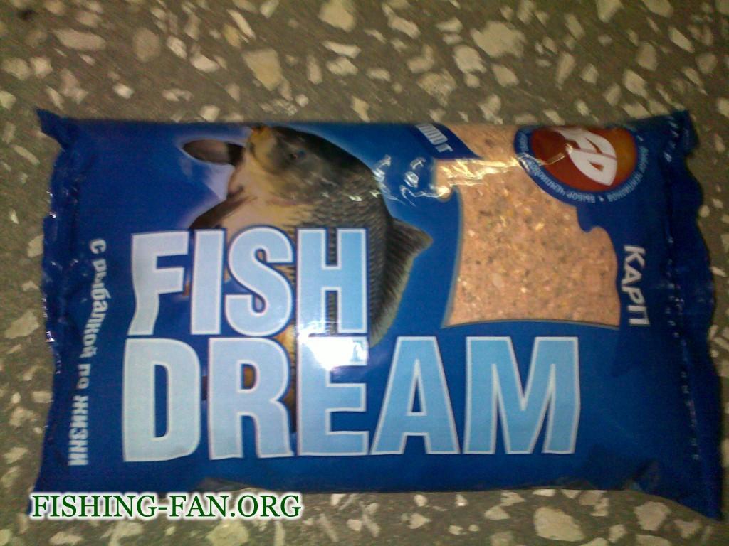 Прикормка для рыб Фишдрим Карп