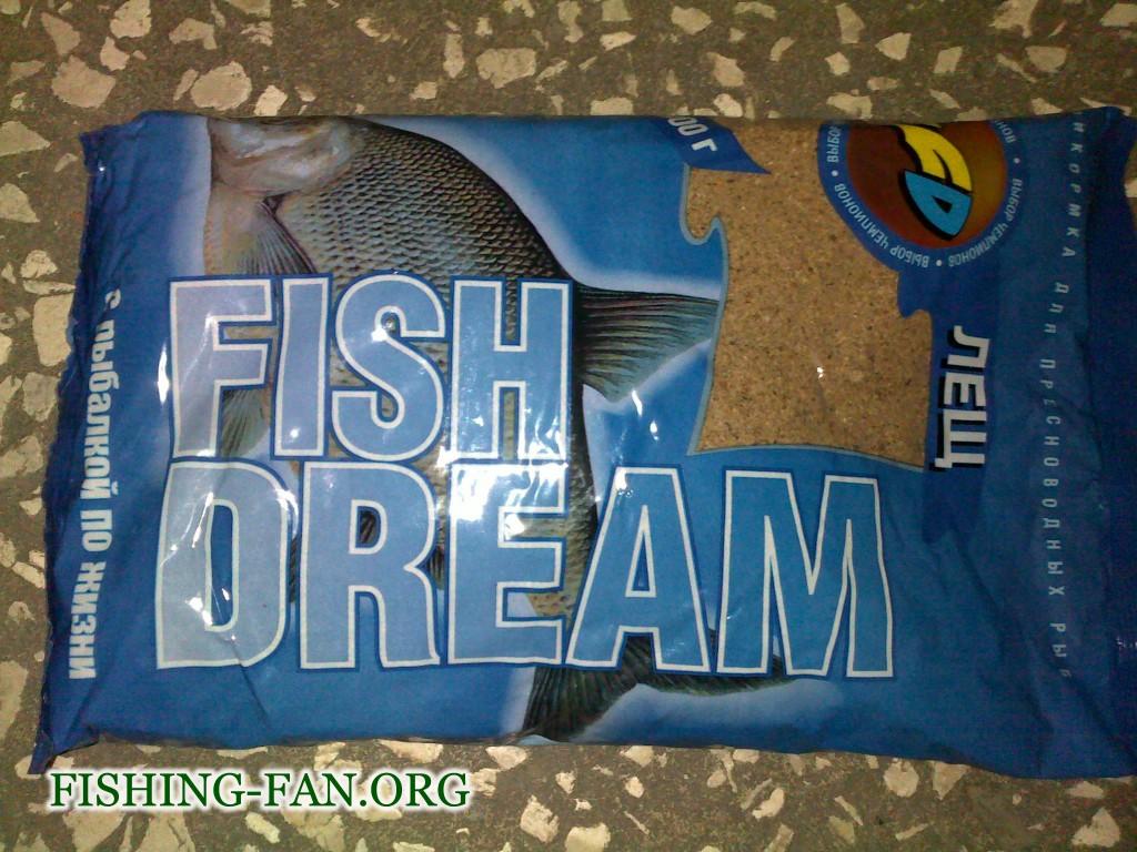 Прикормка для рыб Фишдрим Лещ