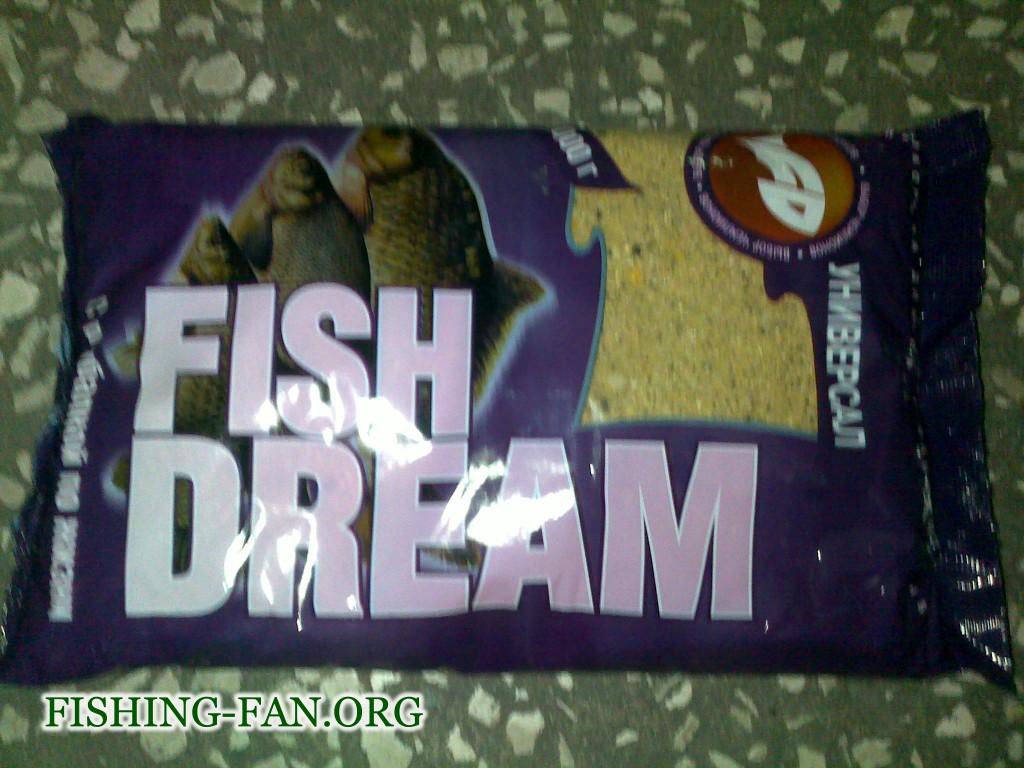 Прикормка для рыб Фишдрим Универсал