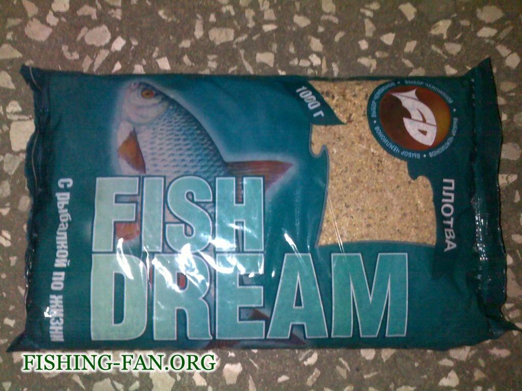 Прикормка для рыб Фишдрим Плотва