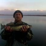 Дневник рыбака  07 11 12 г. Ловля судака на спиннинг в ноябре месяце в Донецкой области, водоем «Гео...