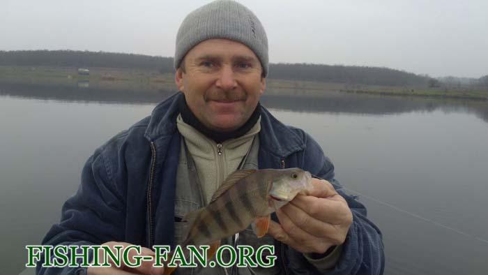 Ловля окуня в Донецкой области осенью