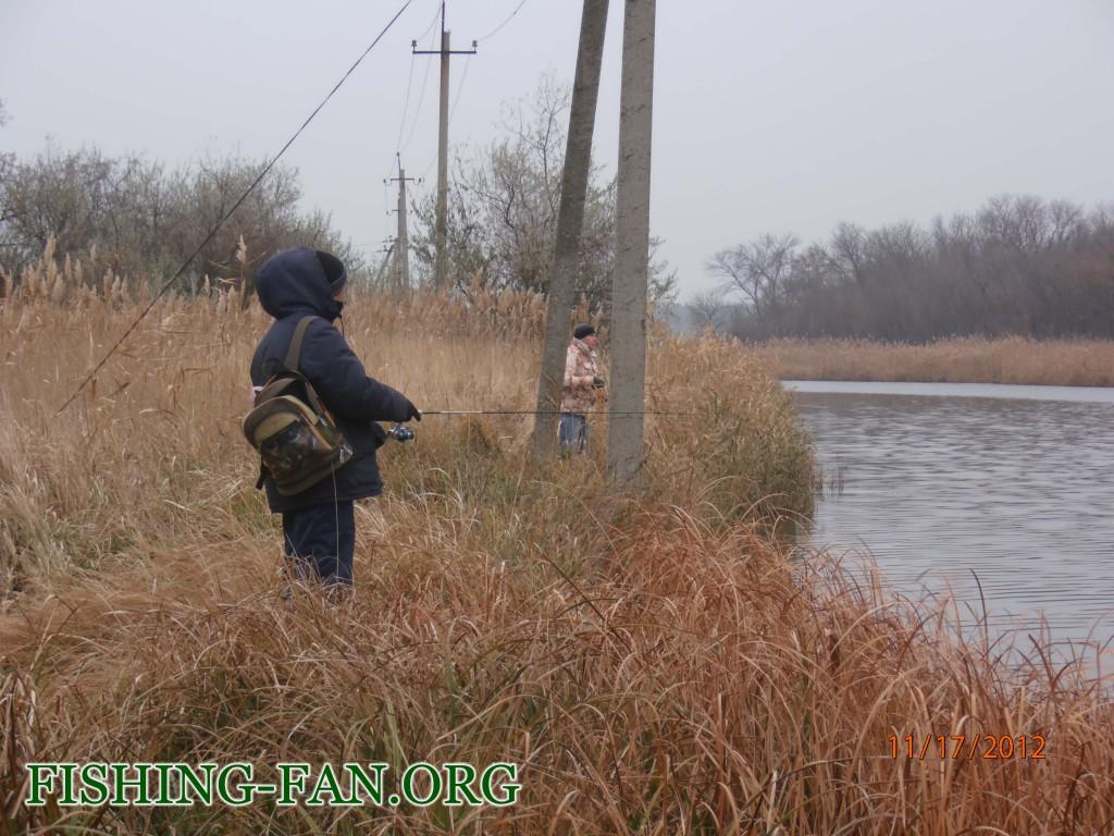 Ловля щуки на спиннинг на реке Сухие Ялы в ноябре