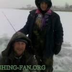 Дневник рыбака 22 12 12 г. Зимняя рыбалка в Донецкой области. Ловля на балансир со льда на водоеме Г...