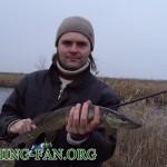 Дневник рыбака 09 12 2012 г. Ловля щуки на спиннинг в декабре на реках Волчья и Сухие Ялы.