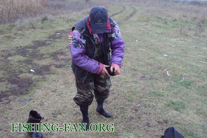 Ловля щуки в Донецкой области в декабре