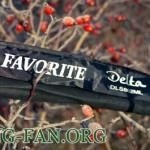 Тест и описание спиннинга Favorite Delta DLS802ML.