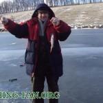 Дневник рыбака 30 12 12 г. Ловля окуня со льда на Николаевском водохранилище.