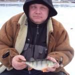 Дневник рыбака 19 01 13 г. Зимняя рыбалка в Донецкой области, Карловское водохранилище.