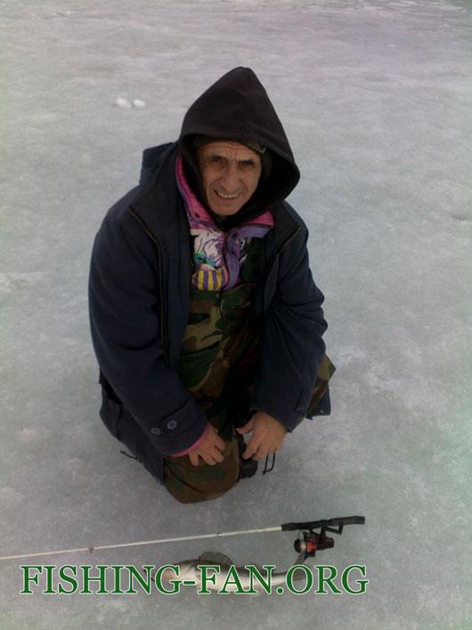 Зимняя рыбалка в Донецкой области
