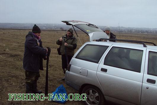 Ловля щуки на спиннинг в феврале на реке Волчья