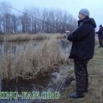 Дневник рыбака 10 02 13 г/ Зимний спиннинг в феврале, на реках Донецкой области.