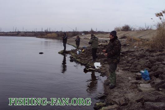 Ловля хищника на спиннинг на Старобешевском водохранилище