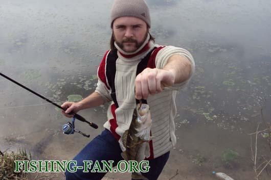 Ловля судака на спиннинг в середине апреля