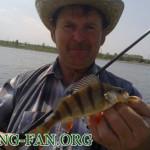 Дневник рыбака 03 05 13 г. Ловля окуня на спиннинг в начале мая на водоеме Георгиевский.