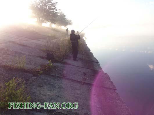 Ловля окуня на спиннинг на водоемах Донецкой области в мае