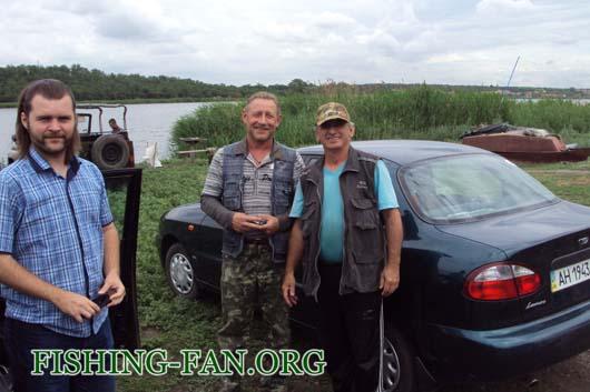 Ловля на спиннинг на водоеме с. Константновка