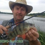 Дневник рыбака 16 06 13 г.  180 км по Донецкой области в поисках клева активного хищника.
