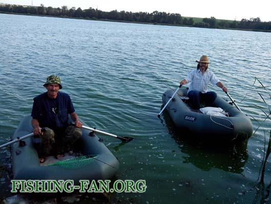 Ловля окуня на Николаевском водохранилище на спиннинг с лодок