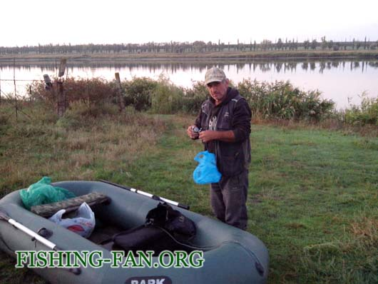 Ловля судака спиннингом с лодок на Антоновке