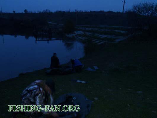 Ловля судака на спиннинг с лодки на водоемах Донецкой области
