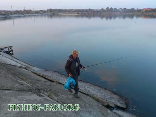Ловля судака на спиннинг на водоеме Георгиевский
