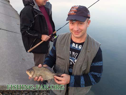 Рыбалка в Донецкой области осенью