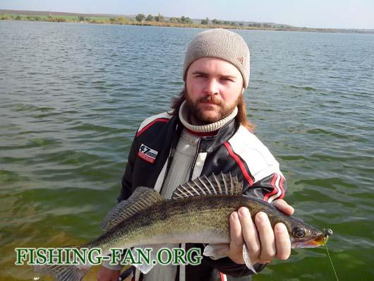 Ловля судака на спиннинг на водоеме Жуковский