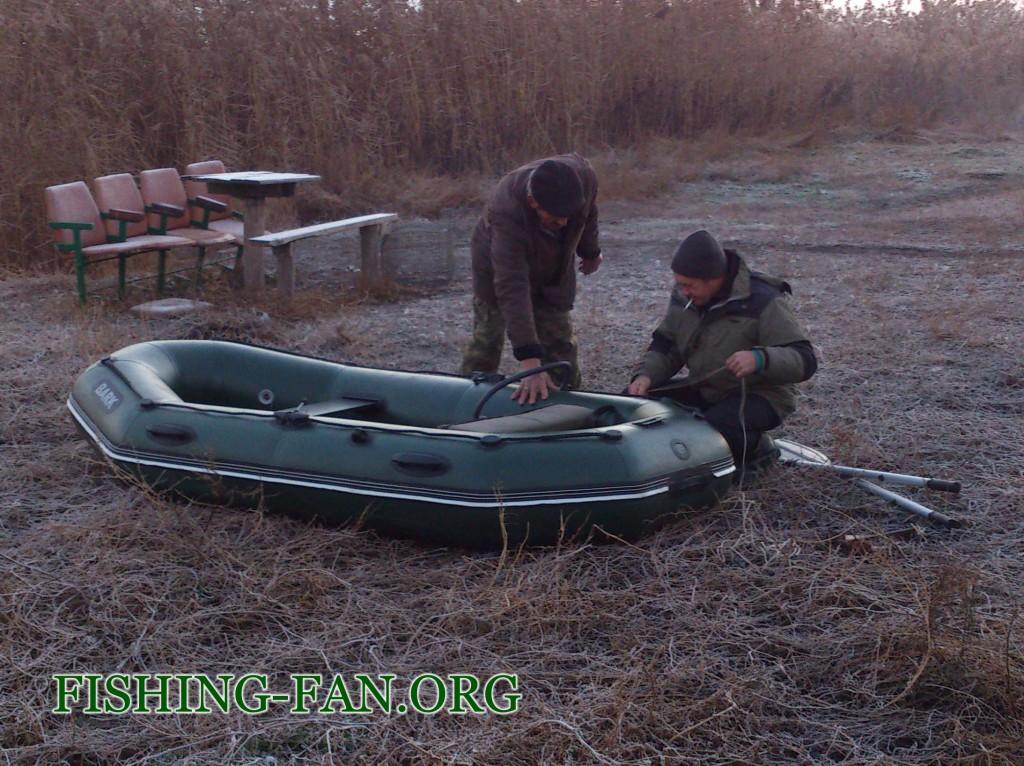 Ловля судака с лодок на спиннинг на водоеме с. Константиновка