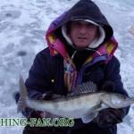Дневник рыбака 06 02 14г. Ловля судака со льда на балансиры.