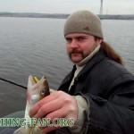 Дневник рыбака 01 03 14г. Открытие сезона ловли на спиннинг с лодок, Старобешевское водохранилище.