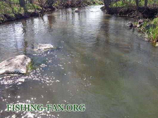 Ловля голавля на реке Кальмиус