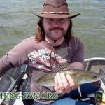 Дневник рыбака 22 06 14г. Ловля судака на спиннинг с лодки в июне месяце.